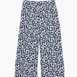 Madewell Huston Pull-On Crop Pants French Floral